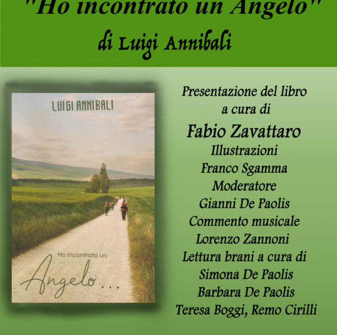 """Civitavecchia, presentazione del libro """"Ho incontrato un Angelo"""" di Luigi Annibali"""