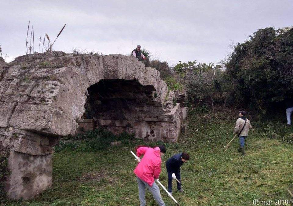 Santa Marinella, ripulito il ponte romano