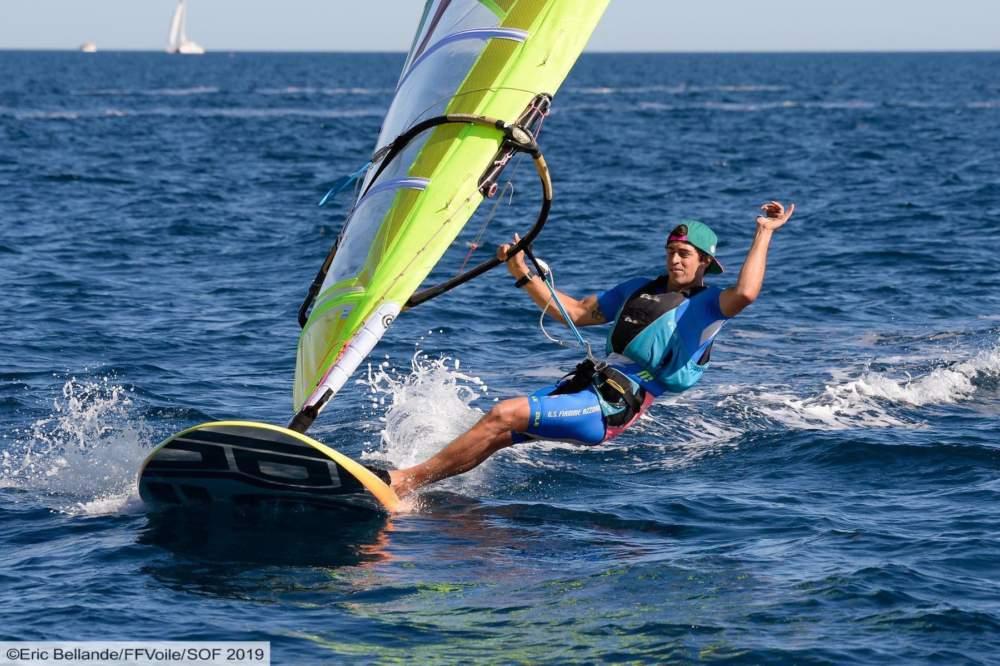 Windsurf, Camboni secondo alla prima giornata della Settimana Velica Francese