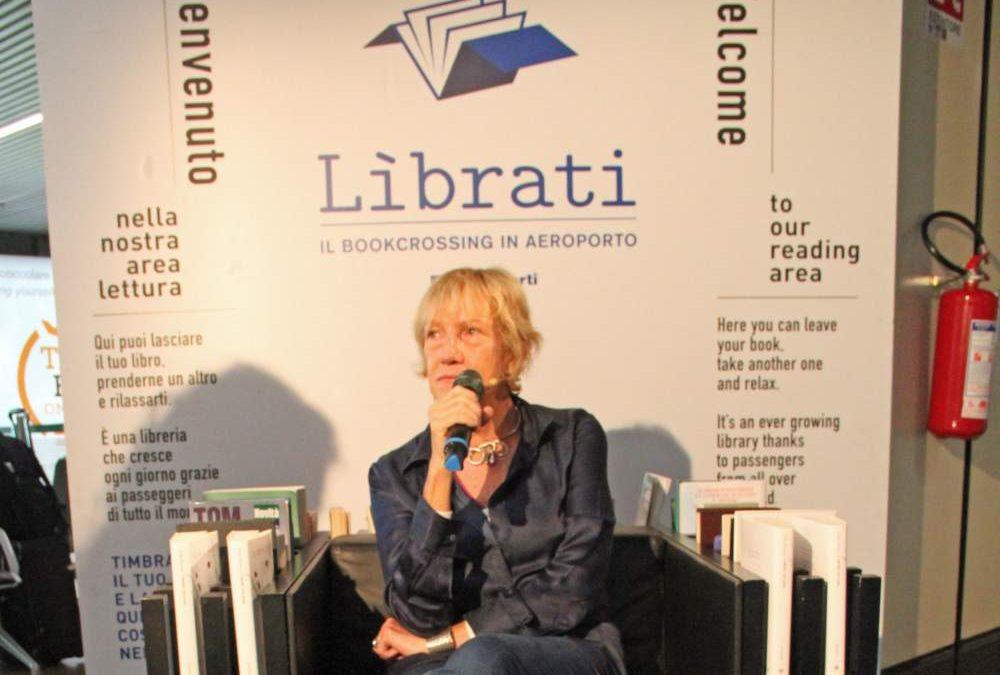 Fiumicino, Lidia Ravera apre la seconda edizione di Lìbrati all'aeroporto