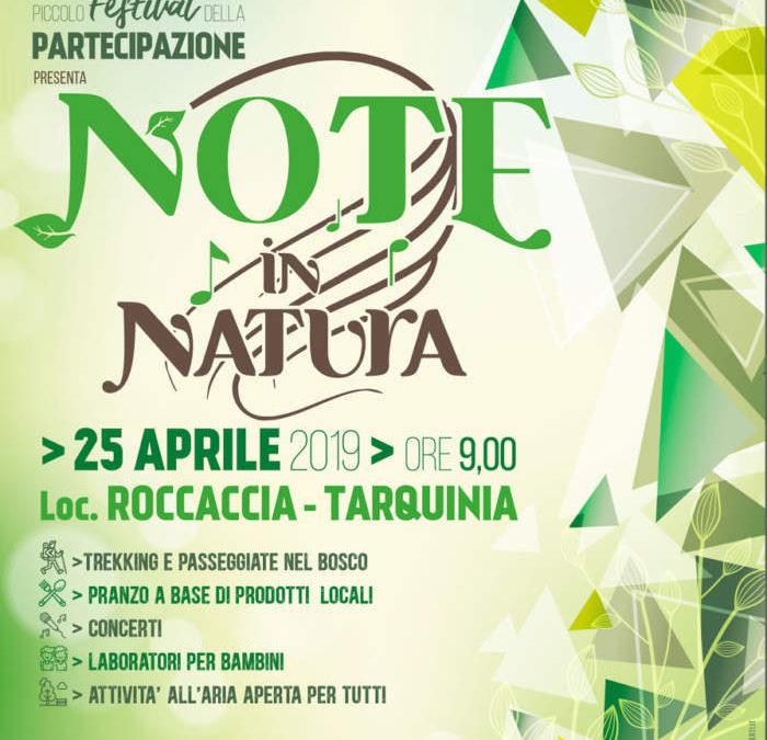 Il 25 aprile, alle Roccaccia, dalle 9 fino al tramonto, la manifestazione dell'associazione Una primavera per Tarquinia