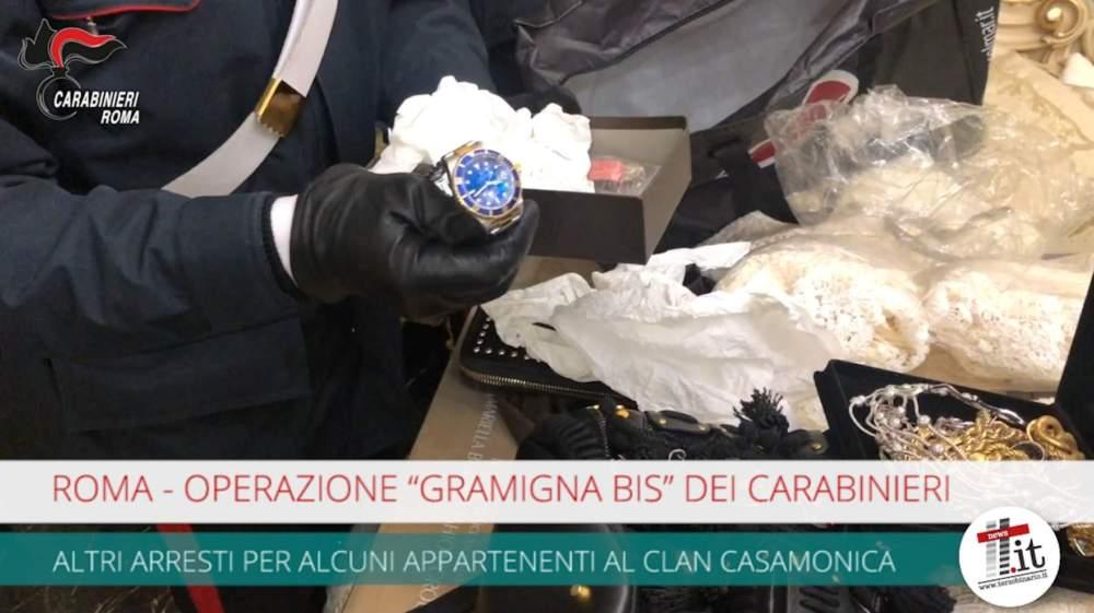 """Operazione """"Gramigna bis"""" altri arresti tra i Casamonica"""