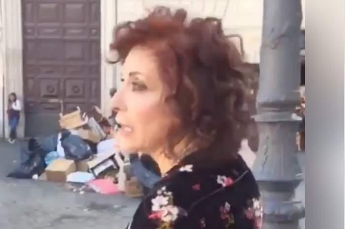 """Campo de' Fiori """"piazza della vergogna"""": il 'vaffa' di Alda D'Eusanio (VIDEO)"""