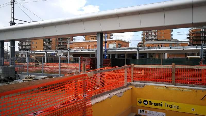 Ladispoli, le Ferrovie bonificano il perimetro intorno alla stazione