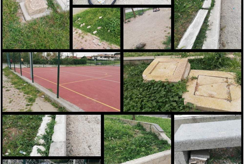 Cerveteri, Fdi denuncia il degrado di parco Borsellino