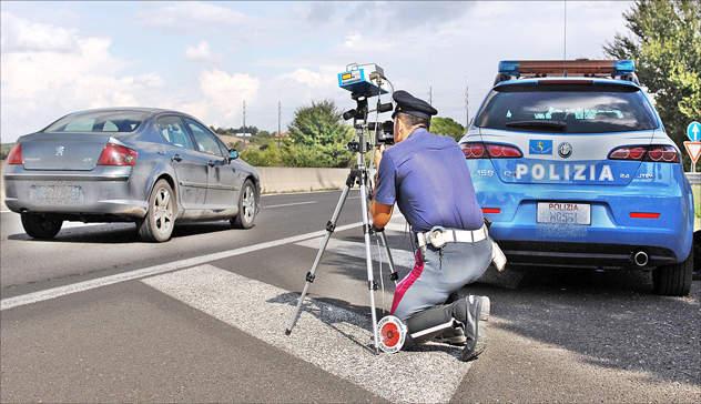 Autovelox sull'A12 Roma Civitavecchia sabato 20 aprile