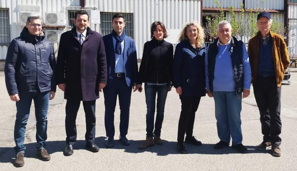 Elezioni Tarquinia, in visita la sottosegretaria grillina Alessandra Pesce