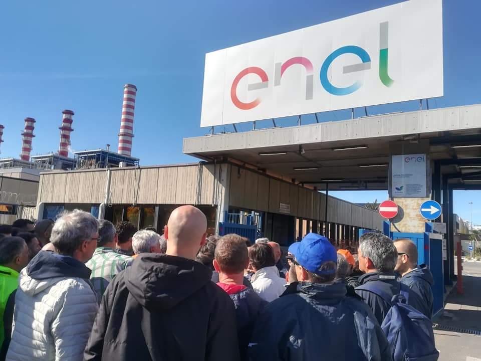 Enel tvn Torre Nord lavoratori