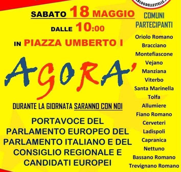 M5S Ladispoli prateciperà ad Agorà Oriolo Romano