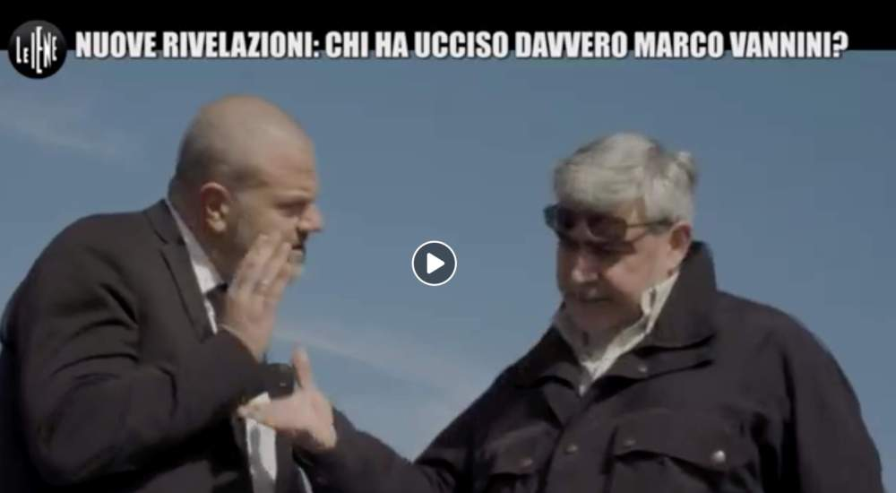 Omicidio Vannini, Vannicola: a sparare è stato Federico