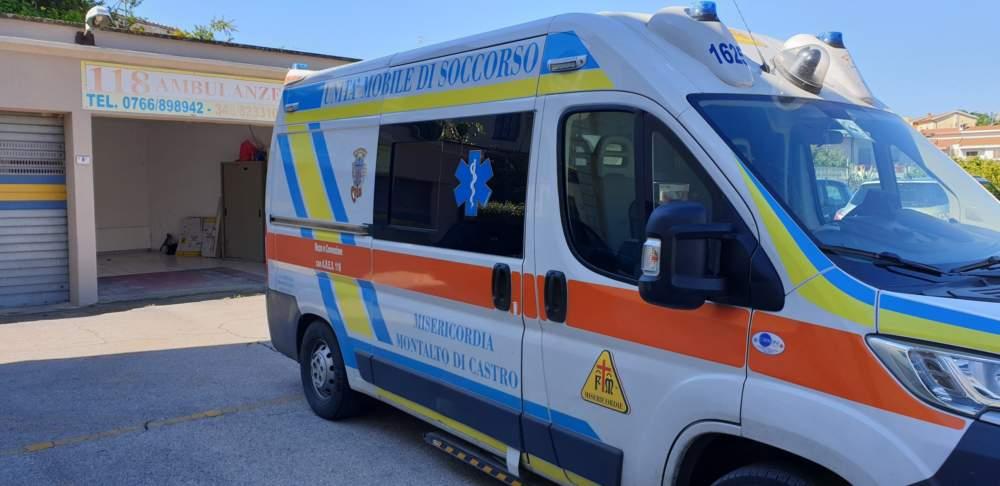 Montalto, una nuova ambulanza per il primo soccorso
