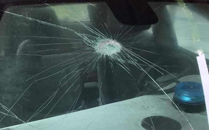"""Atalanta-Lazio, scontri fuori dall'Olimpico: danneggiate vetture della Polizia locale. Sulpl: """"Continuano ad inviarci in questi scenari con la scusa che serviamo la viabilità"""""""