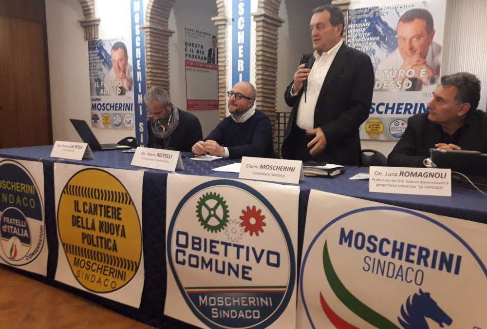 Tarquinia, Moscherini chiude la campagna elettorale con le imprese