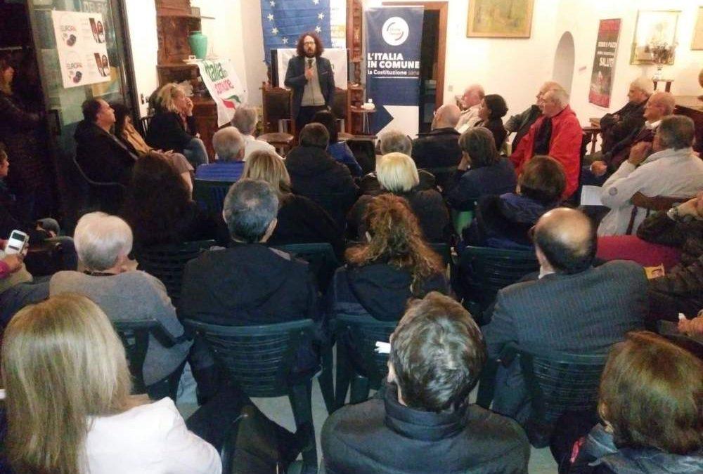 Europee, Italia in Comune presenta i candidati di +Europa a Cerveteri