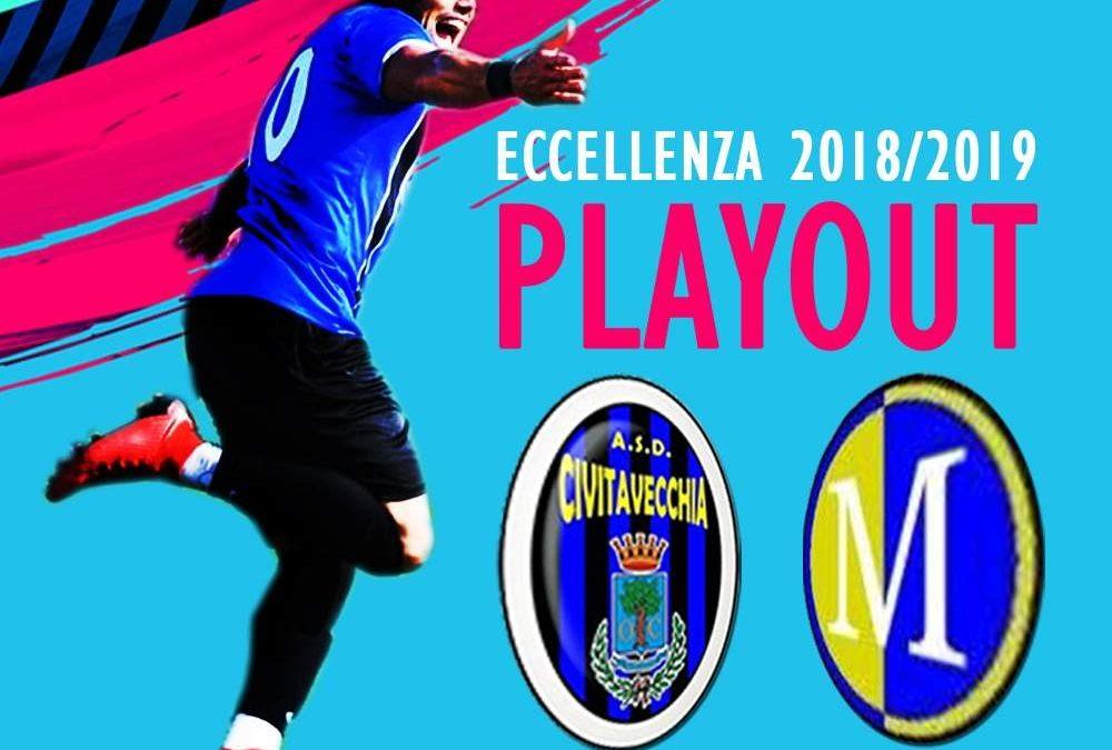 Eccellenza, il Civitavecchia alla gara dell'anno: domenica alla Cavaccia play-out con il Montalto