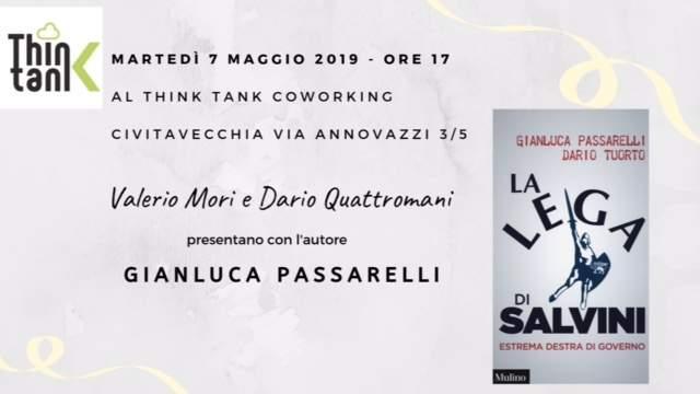 """Civitavecchia, martedì si presenta il libro """"La Lega di Salvini. Estrema destra di governo"""""""