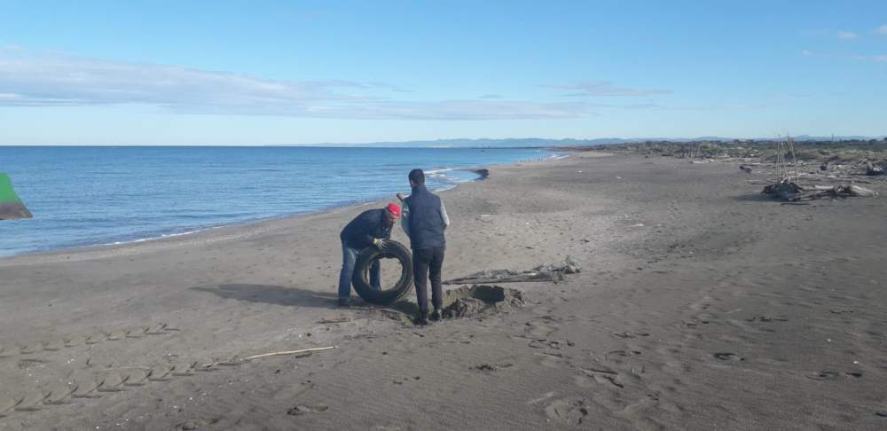 Coccia di Morto, effettuata pulizia straordinaria della spiaggia