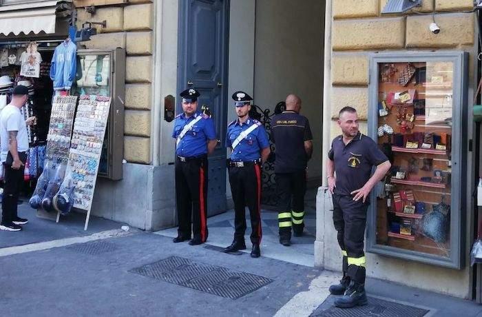Via Nazionale: sovraccarico quadro elettrico, evacuata palazzina