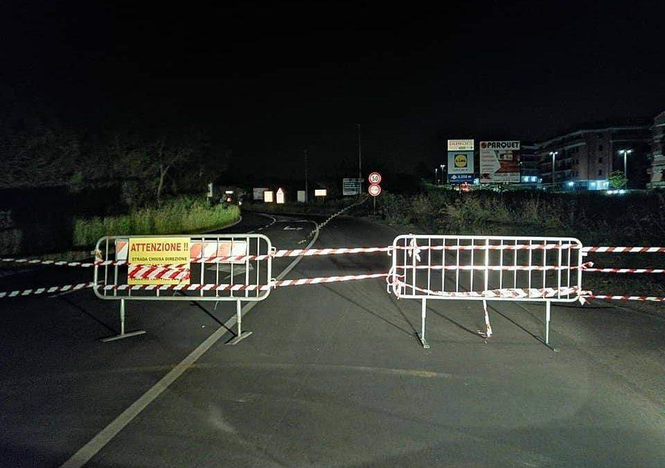 Incidente sulla Braccianese Claudia: chiuso il secondo tronco della strada