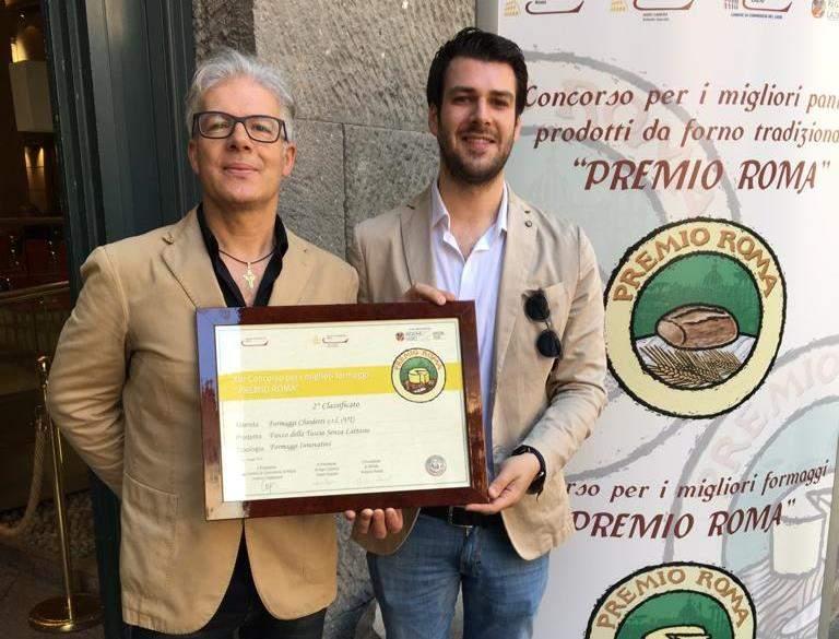 Cna, al Caseificio Cioffi il premio Roma 2019
