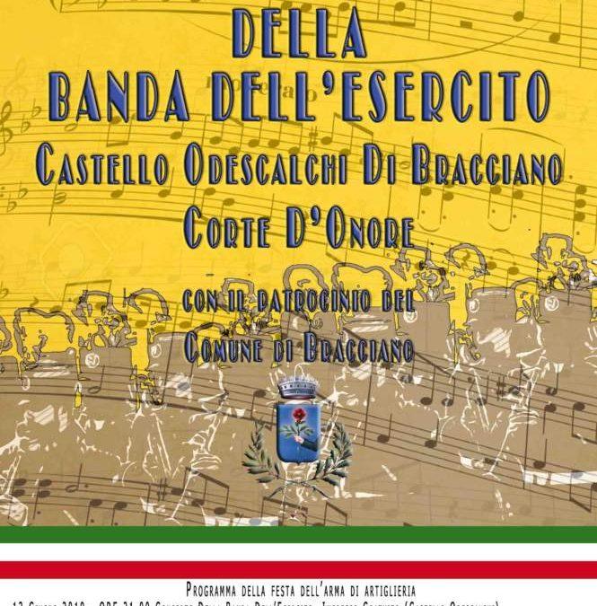 Bracciano, il 14 concerto della Banda dell'Esercito