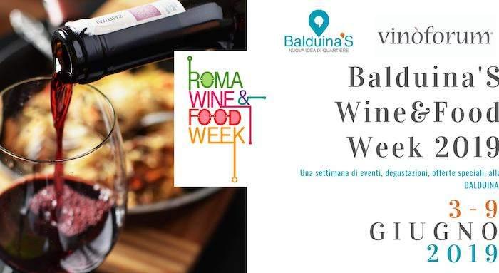 Una settimana di gusto: benvenuta Balduina's Wine & Food Week