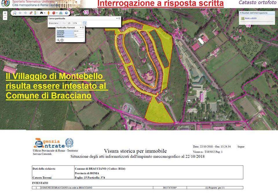 Bracciano, Comitato replica al sindaco su commissario ad acta a Montebello