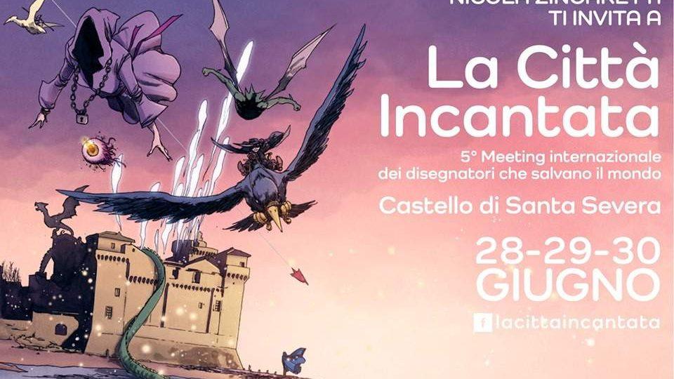 Castello Incantato di disegnatori: da venerdì a Santa Severa