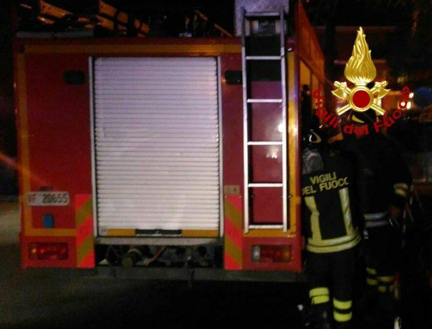 Incendio ad Anzio: auto in fiamme