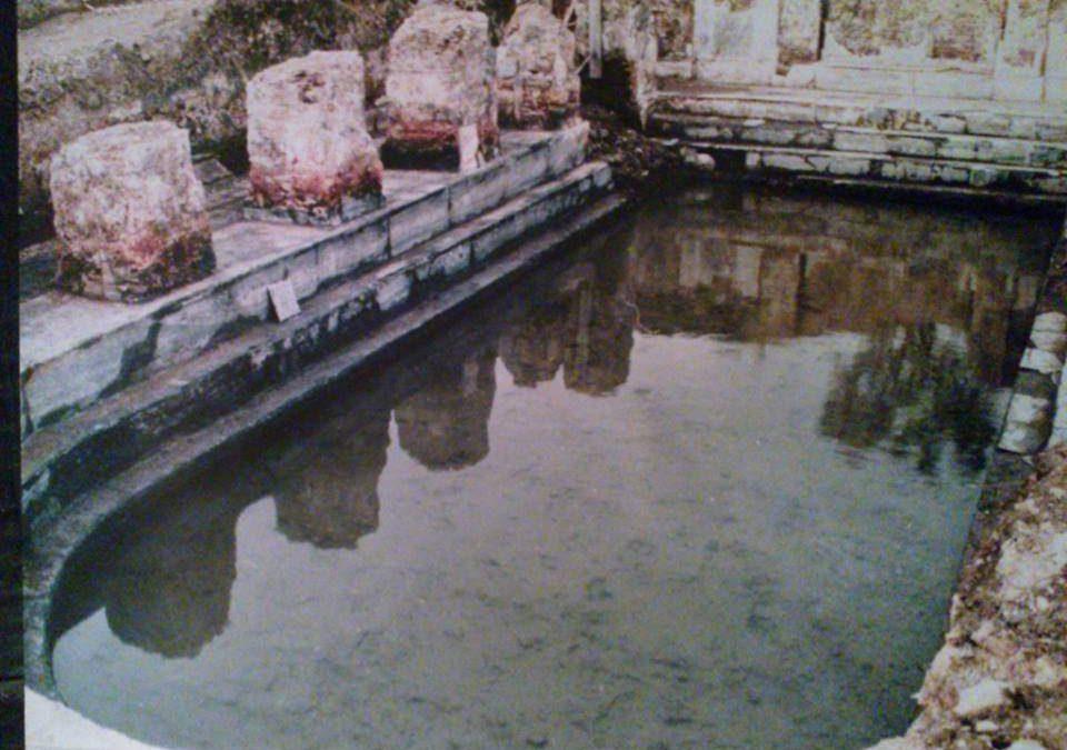 Cerveteri, Alessio Pascucci in visita alle antiche Aquae Ceretane
