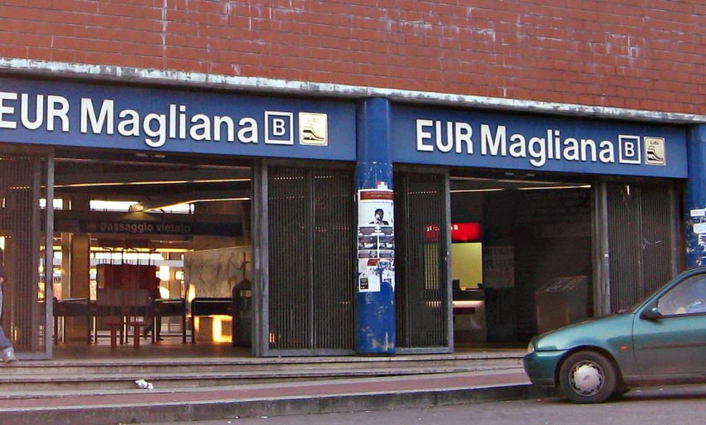 Atac, riaperta scala mobile alla stazione metro Magliana