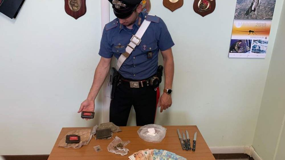 Spaccio, 38enne arrestato dai i carabinieri di Bracciano
