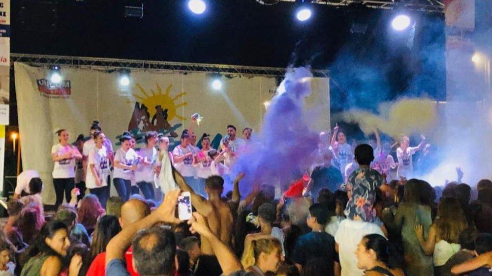 Ladispoli, bene il Colour Party