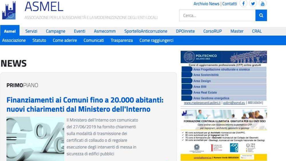 """Piattaforma Asmel, l'amministrazione: """"Ecco perchè presente lo stemma del comune di Pianezza"""""""