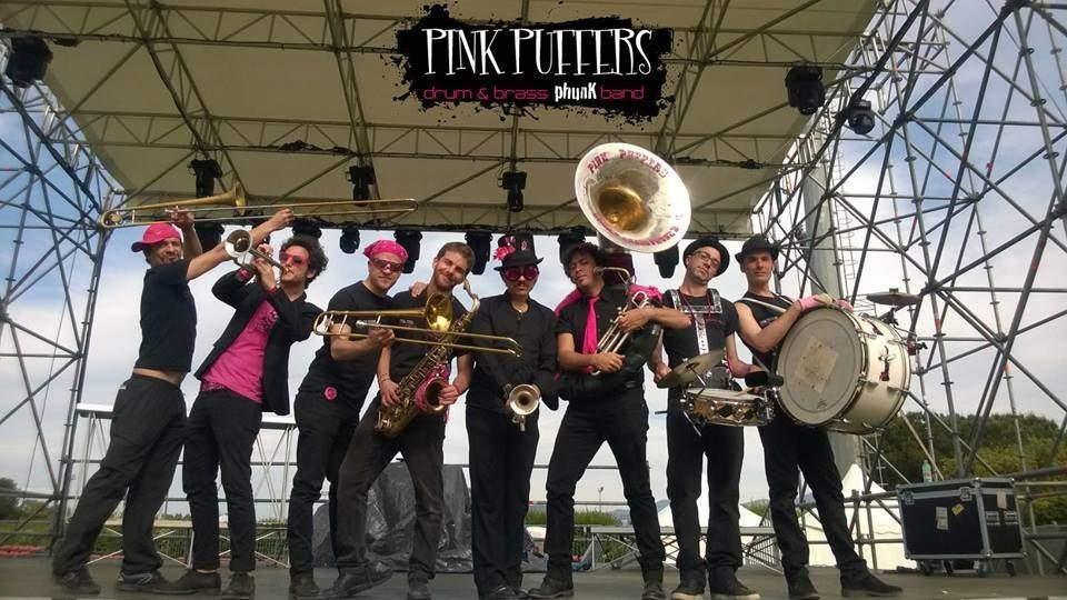 Cerveteri, mercoledì la Pink Puffers Brass band