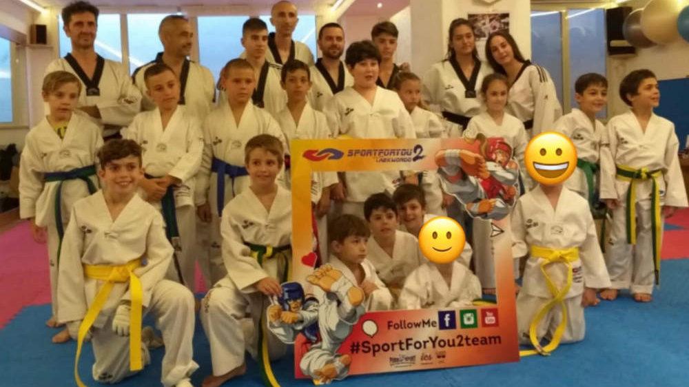 Bracciano, esami di fine anno per la Sport For You 2 di taekwondo