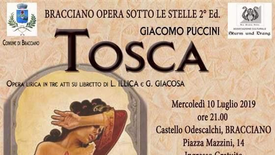 Bracciano Estate aperta dalla Tosca
