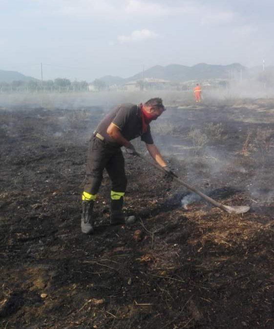 Incendio a Civitavecchia: distrutto un ettaro di macchia mediterranea