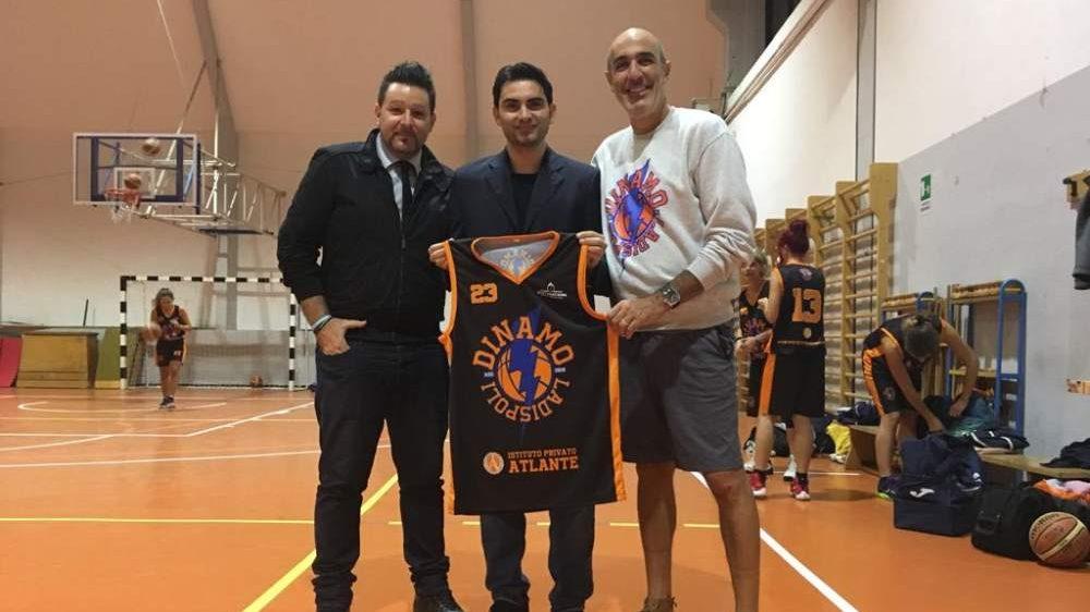 Basket, shopping della Dinamo Ladispoli