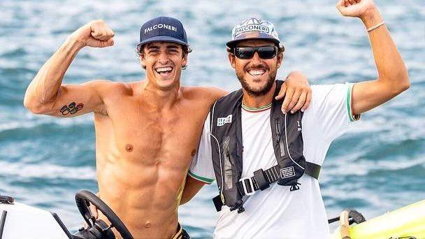 Windsurf, Mattia Camboni torna con un argento preolimpico dal Giappone