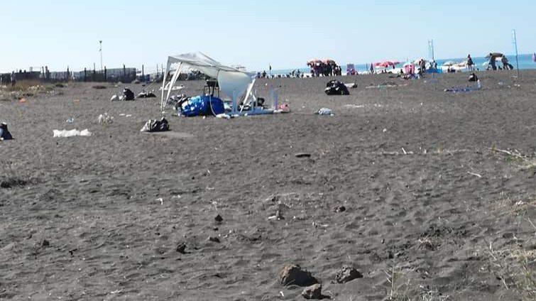 """M5s Cerveteri sulla spiaggia di Campo di Mare: """"Nuova era già finita"""""""