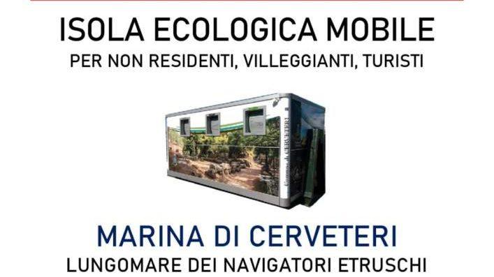 Cerveteri, isola ecologica mobile per non residenti