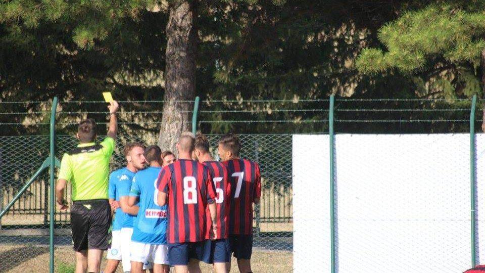 Us Ladispoli, rissa contro la Primavera del Napoli: gara sospesa