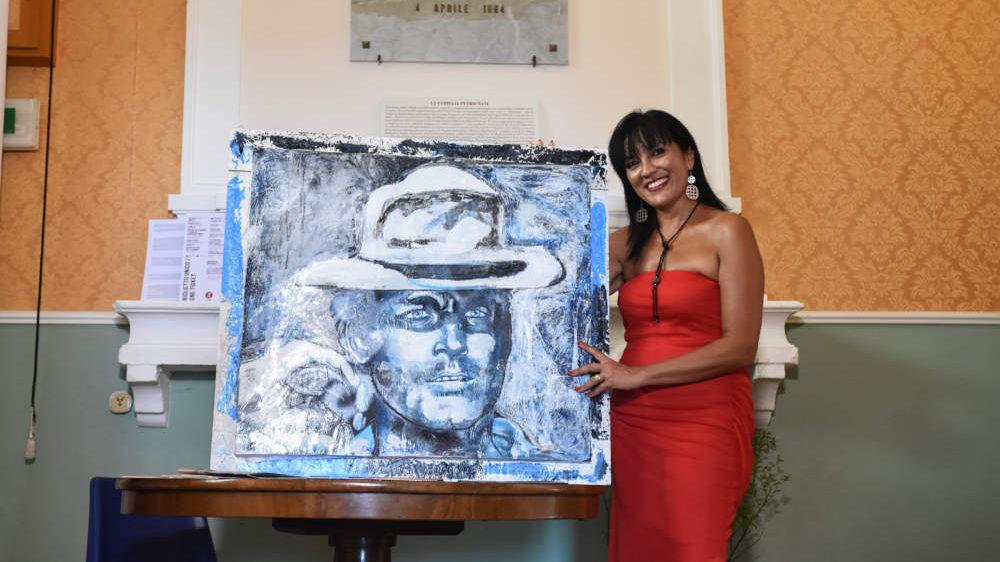 Civitavecchia, Ombretta Del Monte espone da maestro d'arte in Polonia
