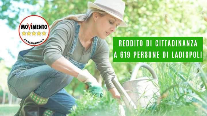 """Ladispoli, il M5S: """"Grando impieghi i fruitori del Reddito di Cittadinanza in lavori socialmente utili"""""""