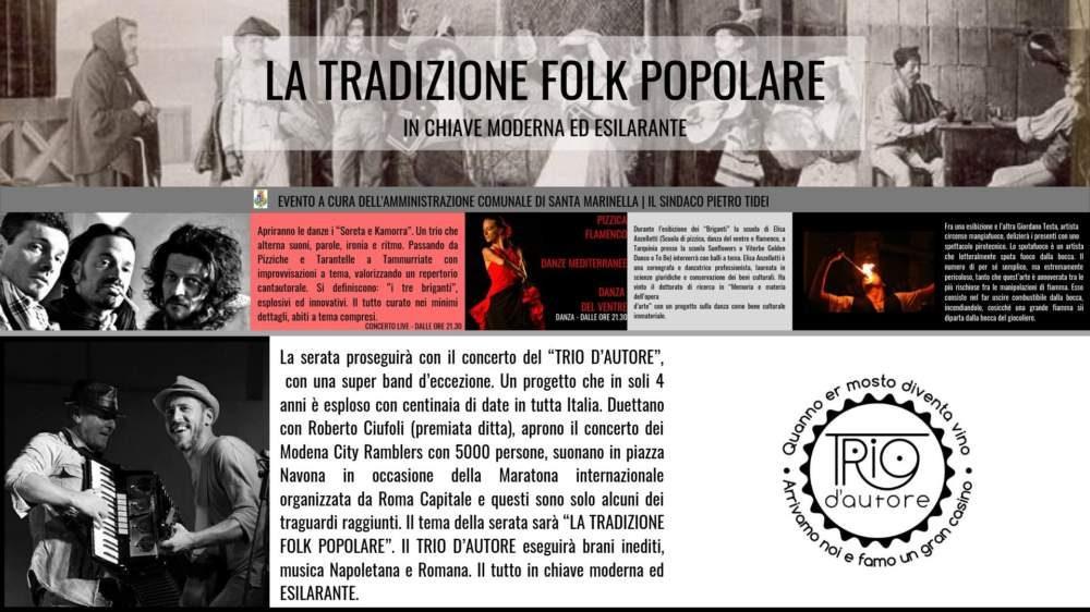 Santa Marinella, arriva la tradizione folk