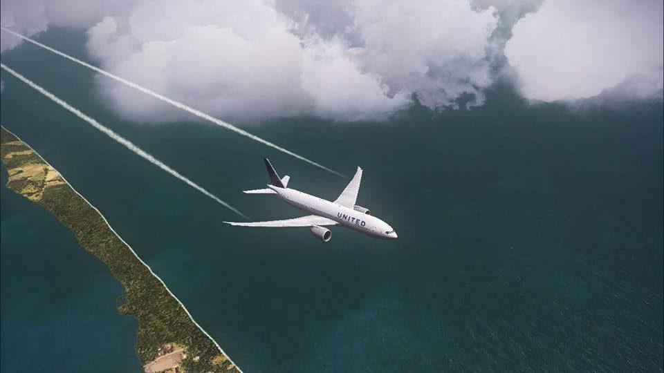 Il volo che perde pezzi scarica il carburante su Santa Marinella