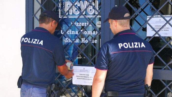 Sigilli al ristorante dove c'era cocaina: intervento della Polizia di Civitavecchia VIDEO