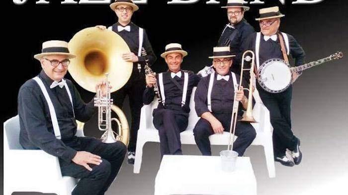 Cerveteri, a Campo di Mare Associazione Nautica la Zambra Dixie Jazz Band in concerto