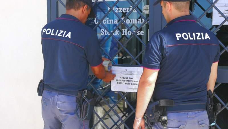 La Polizia chiude una sala scommesse a Santa Marinella